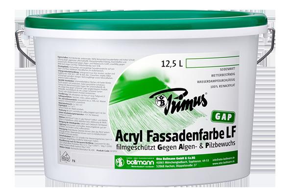 Acryl-Fassadenfarbe-LF-GAP